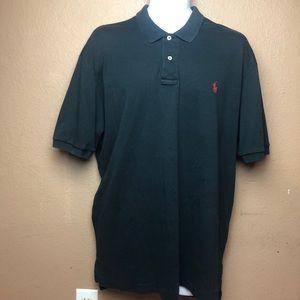 Polo by Ralph Lauren Black Short Sleeve Polo XL